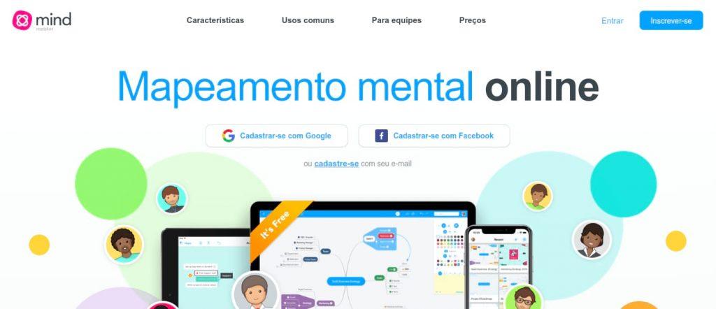 MindMeister para estimular a criatividade