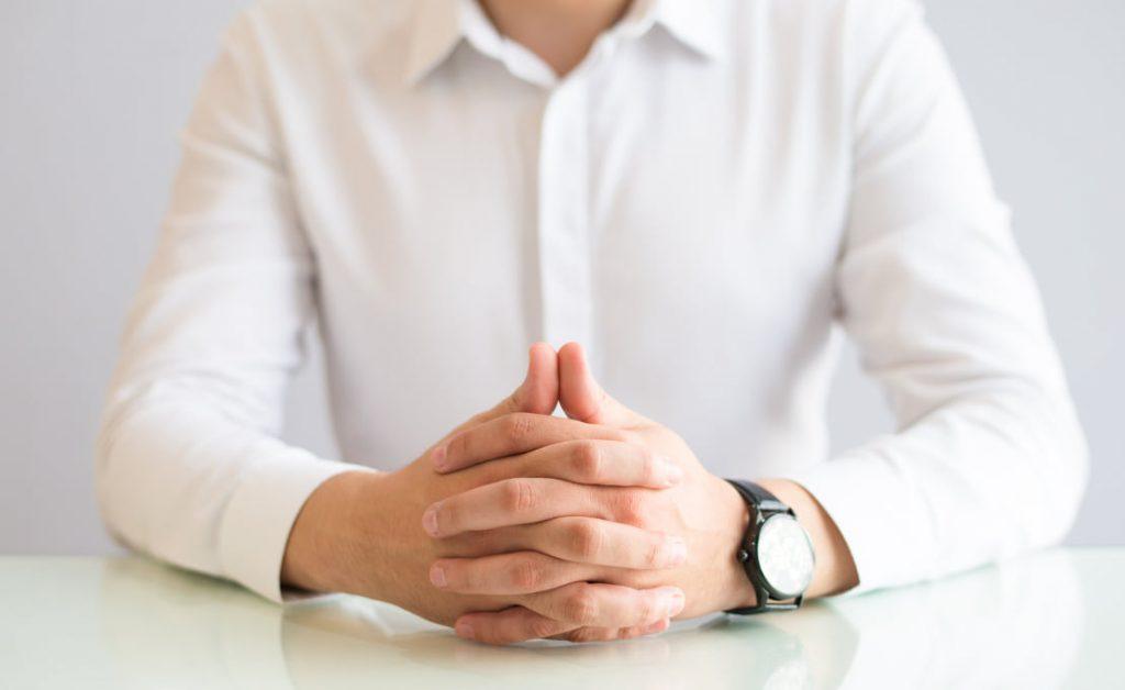 Postura na entrevista de emprego