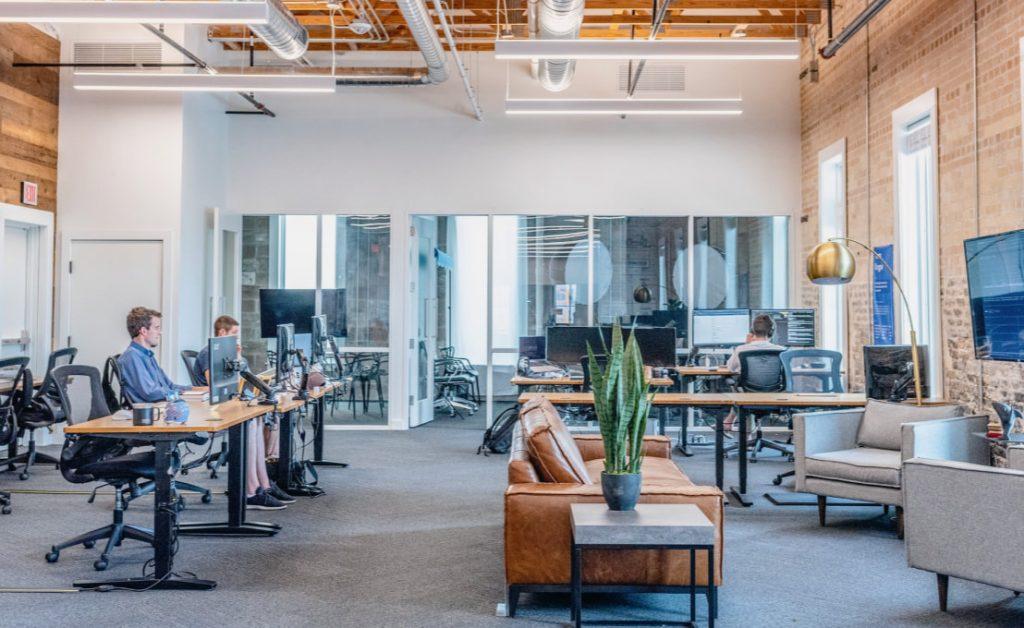 Ambiente da empresa