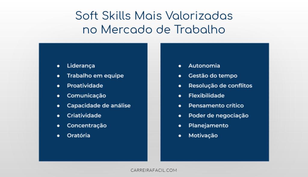 Soft skills mais valorizados