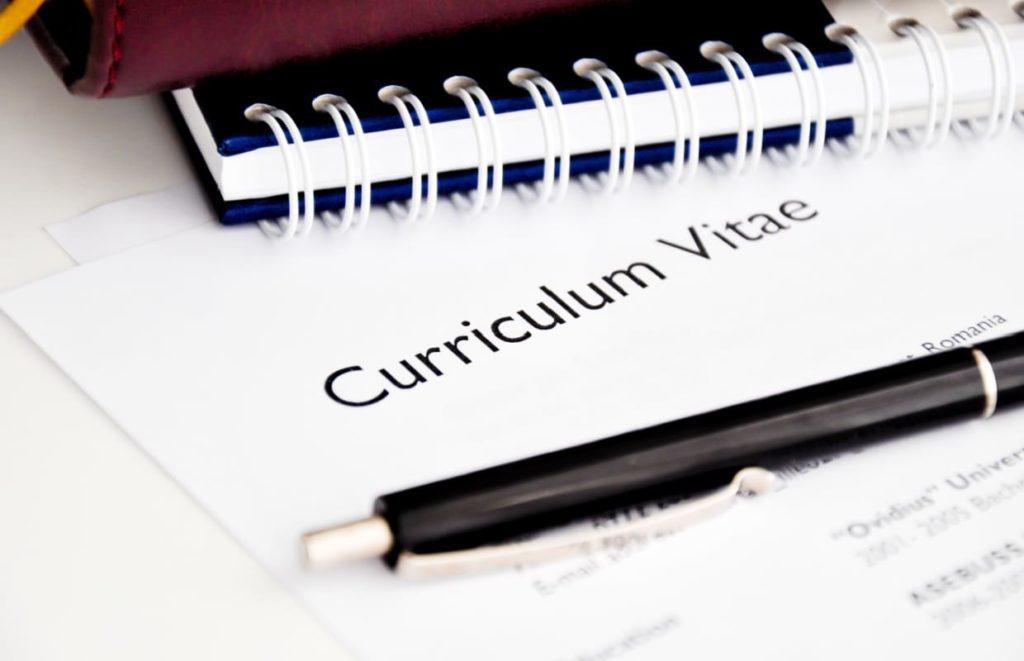 Projetos temporários no currículo