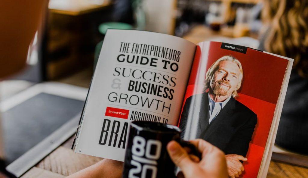 Richard Branson é um bom exemplo de marca pessoal